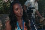 Dr. Gerard Gibbons Director VISUAL EYES Emotive Storytelling Team interviews female veteran