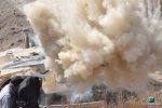 VISUAL EYES Emotive Storytelling Team captures close up of Humvee destruction