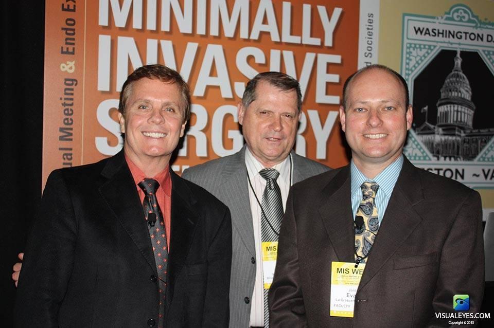 Dr. Gerard Gibbons Director VISUAL EYES Emotive Storytelling Team with Dr Richard Satava and Jordan Evans
