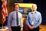 Dr. Gerard Gibbons VISUAL EYES Emotive Storytelling Team with Jordan Evans at JPL NASA Mars Curiosity Robot Program