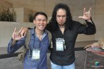 Comedian Veteran Thom Tran, and Not Gene Simmons at NAMM 2013
