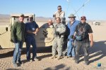 VISUAL EYES Emotive Storytelling Team with soldiers at Fort Irwin