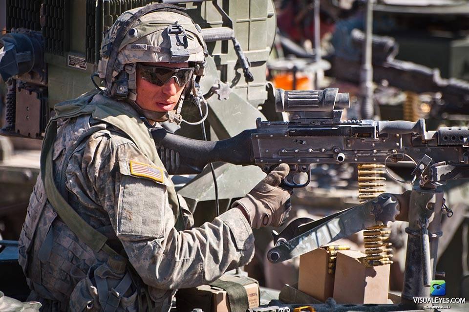 VISUAL EYES Emotive Storytelling Team video captures Stryker Brigade Combat Team member