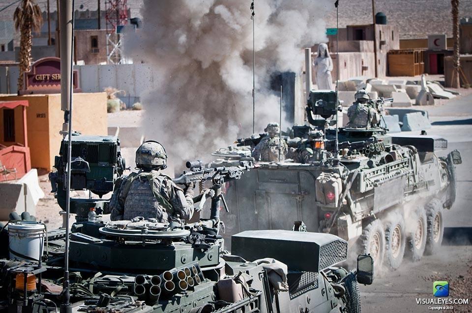 VISUAL EYES Emotive Storytelling Team video captures Stryker Brigade Combat Team scenario