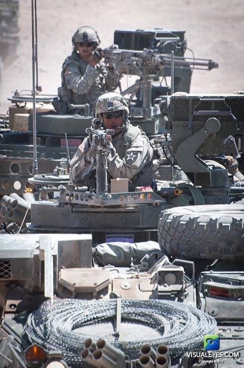 VISUAL EYES Emotive Storytelling Team video captures Stryker Brigade Combat Team soldier