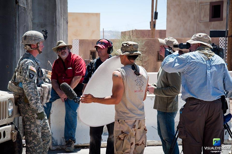 Dr. Gerard Gibbons Director VISUAL EYES Emotive Storytelling Team interviews interviews CPT Tillman with Stryker Brigade Combat Team