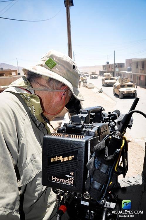 VISUAL EYES Emotive Storytelling Team video captures HUMMVEEs during Stryker Brigade Combat Team scenario