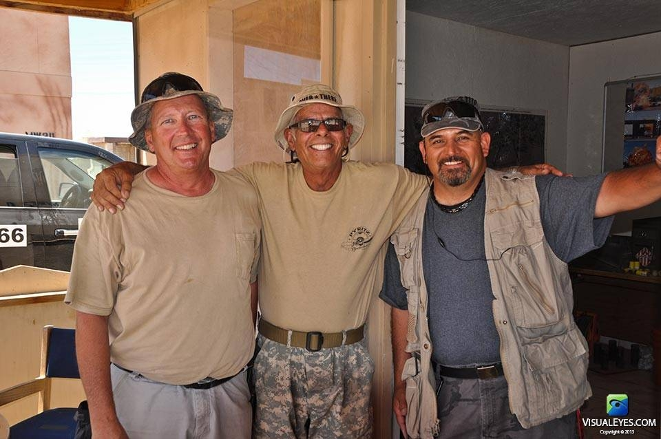 VISUAL EYES Emotive Storytelling Team - Special Effects team on location at NTC Fort Irwin