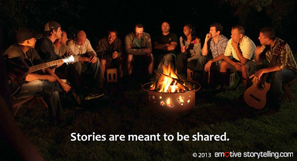Emotive Storytelling can be used for behavior change and healing