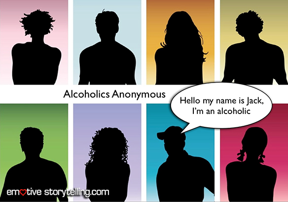 Alcoholics Anonymous is based not on theory but on experiences which are shared through stories.