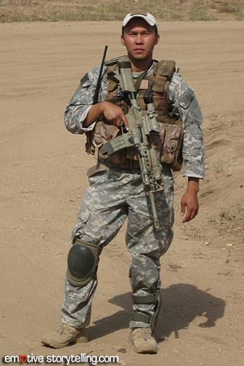 SSG Thom Tran, U.S. Army