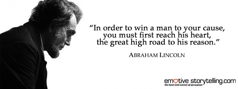 Lincoln Heart Quote