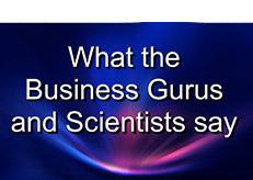 WhatTheGurusAndScientistsSay