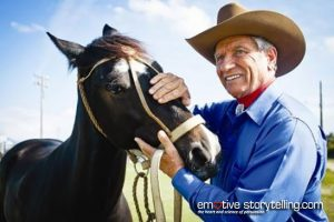 Monty-Roberts-Horse-Whisperer-helps-Veterans-with-PTSD